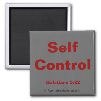 Bible Quotes Square Magnet