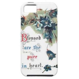 Bible Saying With Flowers iPhone 5 Cases