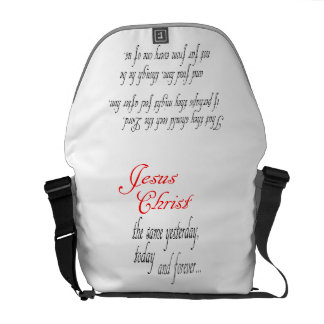 Bible Scripture Christian Jesus Messenger Bag