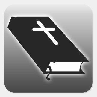 Bible Square Sticker
