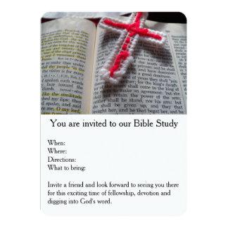 Bible Study Devotional Invitation