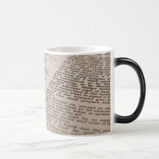 Bible Text Magic Mug