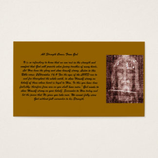 Bible Tracts Isaiah 40:28-31 Business Card