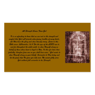Bible Tracts Isaiah 40:28-31 Pack Of Standard Business Cards