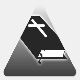 Bible Triangle Sticker