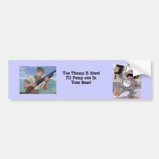 Bible Tumpers Beware Bumper Sticker