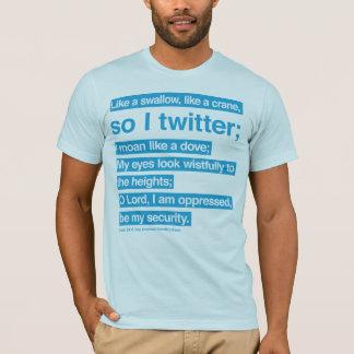 bible twitter (blue) T-Shirt
