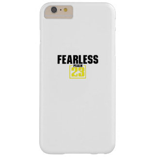 Bible Verse Christian Jesus Fearless Psalm 23 Barely There iPhone 6 Plus Case