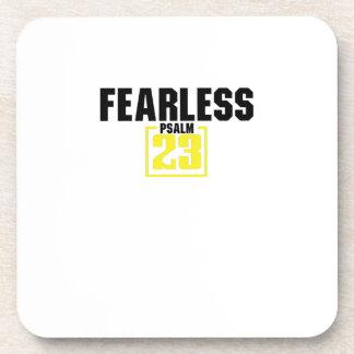 Bible Verse Christian Jesus Fearless Psalm 23 Coaster
