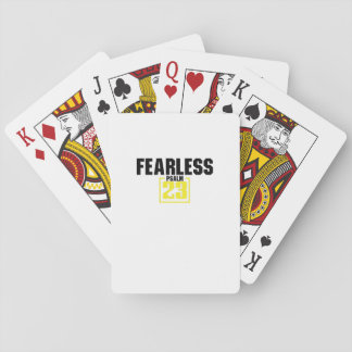 Bible Verse Christian Jesus Fearless Psalm 23 Playing Cards