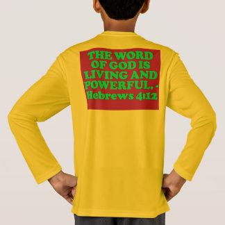 Bible verse from Hebrews 4:12. T-Shirt