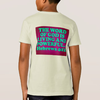 Bible verse from Hebrews 4:12. T-Shirt