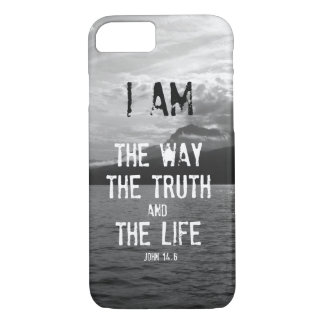 Bible Verse: I am the Way, Truth, Life Case-Mate iPhone Case