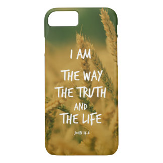 Bible Verse: I am the Way, Truth, Life iPhone 7 Case