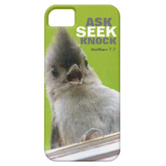 Bible Verse iPhone 5 Case: Matthew 7:7 Case For The iPhone 5