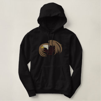 Bible Verse- Isaiah 40:31 Embroidered Hoody