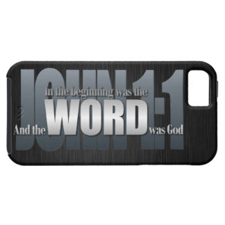 Bible Verse - John 1:1 iPhone 5 Case