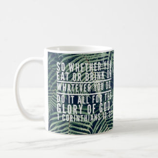 Bible Verse Mug - Left View Print