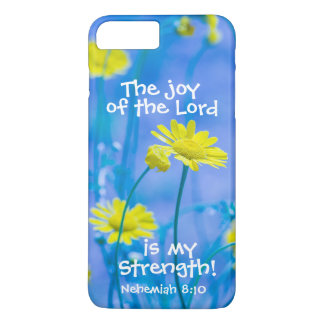 Bible Verse Nehemiah The Joy of the Lord iPhone 8 Plus/7 Plus Case