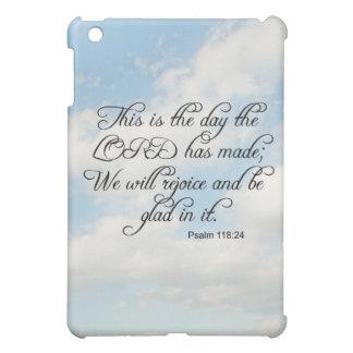 Bible Verse Psalm 118-24 Over Sky iphone, Ipad, iPad Mini Covers