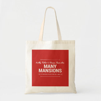 Bible Verse Religious Saying Tote Bag