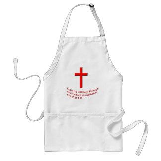 Bible verse standard apron