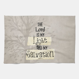 Bible Verse: The Lord is my Light and my Kitchen Towel