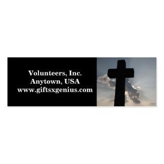Bible Verse Volunteer Appreciation Gift Business Card Template