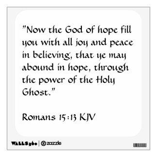 Bible Verse Wall Decal