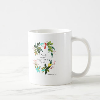 Bible Verses Art - Hebrews 13:20-21 Coffee Mug