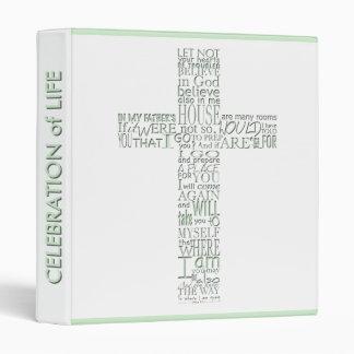 Bible Verses from John 14 Custom Guest Book 10 Vinyl Binder