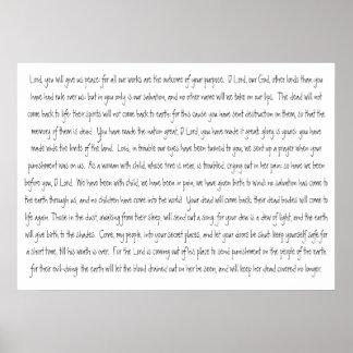 Bible Verses Scripture Isaiah 26 Poster
