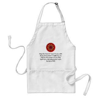 Bible Verses Uplifting Quote Romans 15 13 Aprons