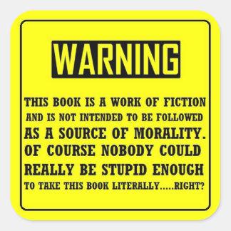 Bible Warning Label