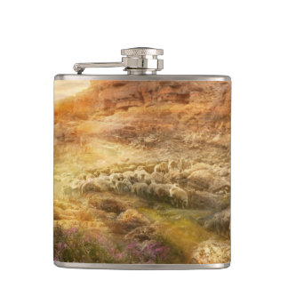 Bible - Yea, though I walk through the valley 1920 Flasks