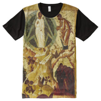 Biblical Christ Configuration Paint All-Over-Print T-Shirt
