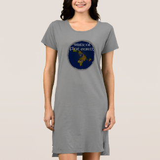 Biblical Flat Earth Dress