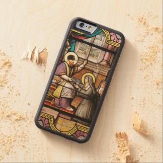 Biblical hip-hop carved maple iPhone 6 bumper case