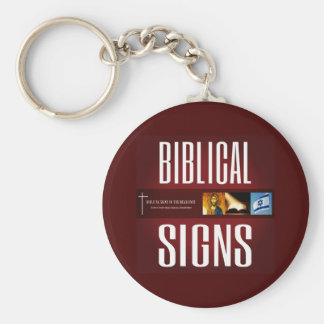 Biblical Signs 2018 Logo Keychain