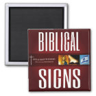 Biblical Signs 2018 Logo Magnet