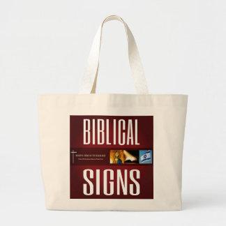 Biblical Signs ITH 2018 Logo Tote Bag (Large)