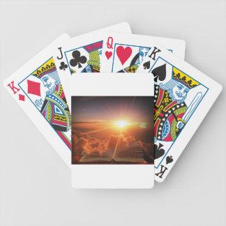 Biblical Sunset Poker Deck