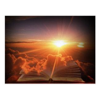 Biblical Sunset Postcard