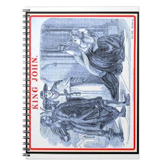 Bibliomania: Shakespeare - King John Spiral Notebooks