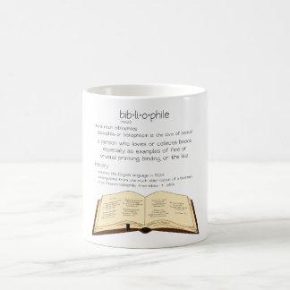 Bibliophile Coffee Mug