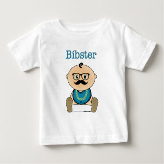 Bibster - Baby HIpster Baby T-Shirt