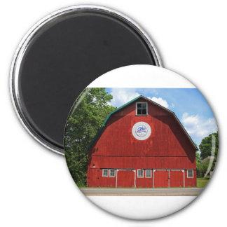 Bicentennial Barn III 2 Inch Round Magnet