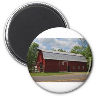 Bicentennial Barn IV 2 Inch Round Magnet