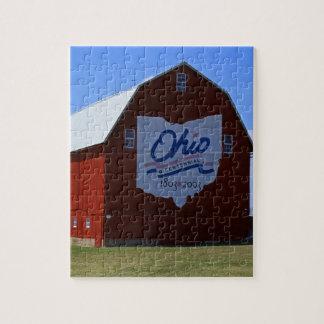 Bicentennial Barn Red Jigsaw Puzzle