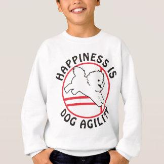 Bichon Agility Happiness Sweatshirt